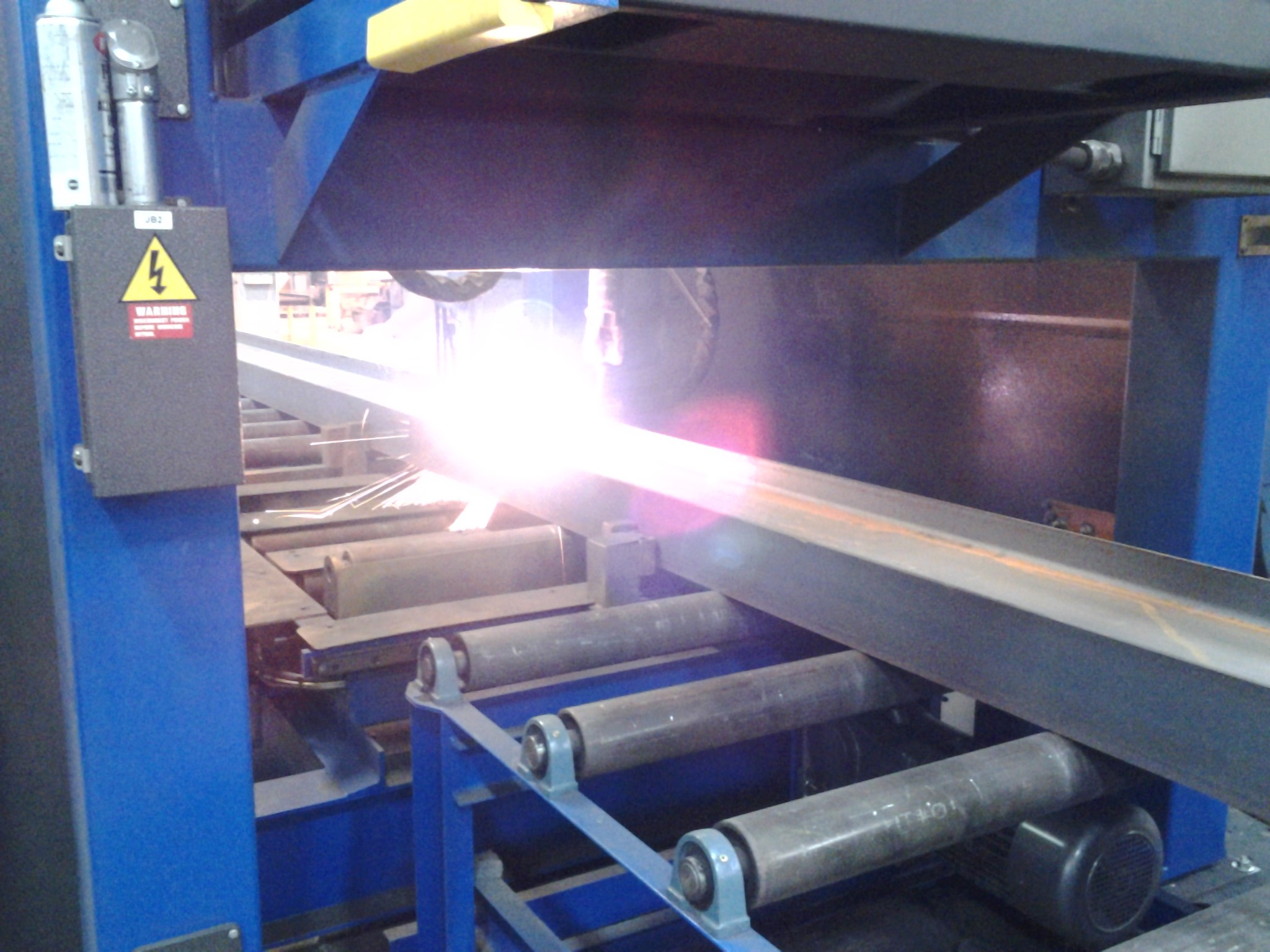 Robotic Plasma System for automated structural steel fabrication